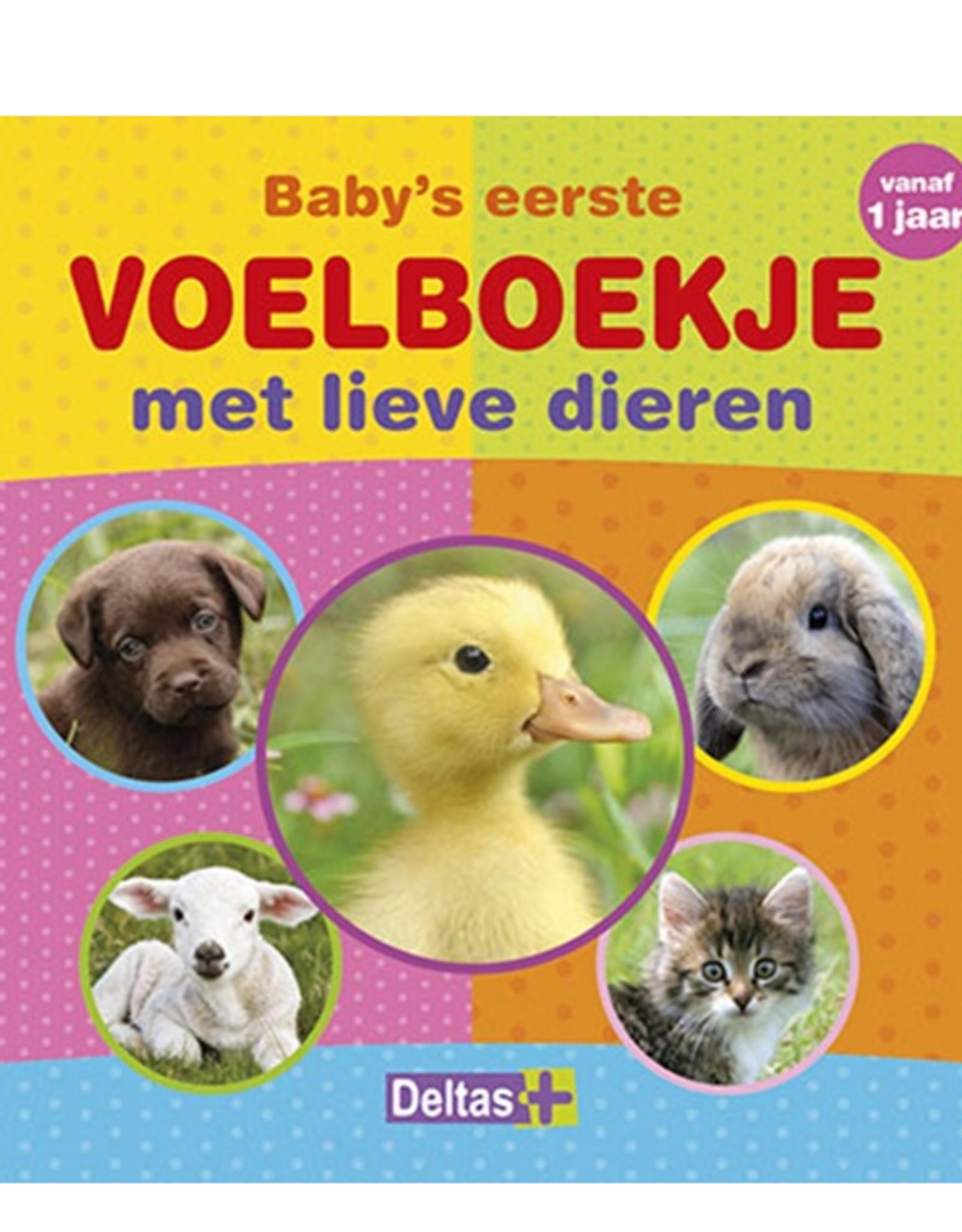 Deltas Voelboekje met lieve dieren