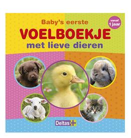 Deltas Deltas Voelboekje met lieve dieren