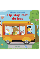Deltas Mijn leuke schuifboekje ' Op stap met de bus'