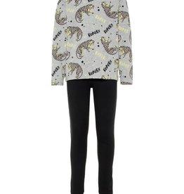 Name It Pyjama grijs tijger