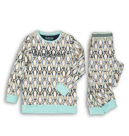 Charlie Choe Charlie Choe J-pyjama pinquin soft blue