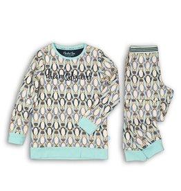 Charlie Choe Pyjama pinquin soft blue