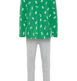 Name It Pyjama green cijfers