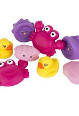 Play Gro Zakje met badspeelgoed 8 spuitfiguurtjes