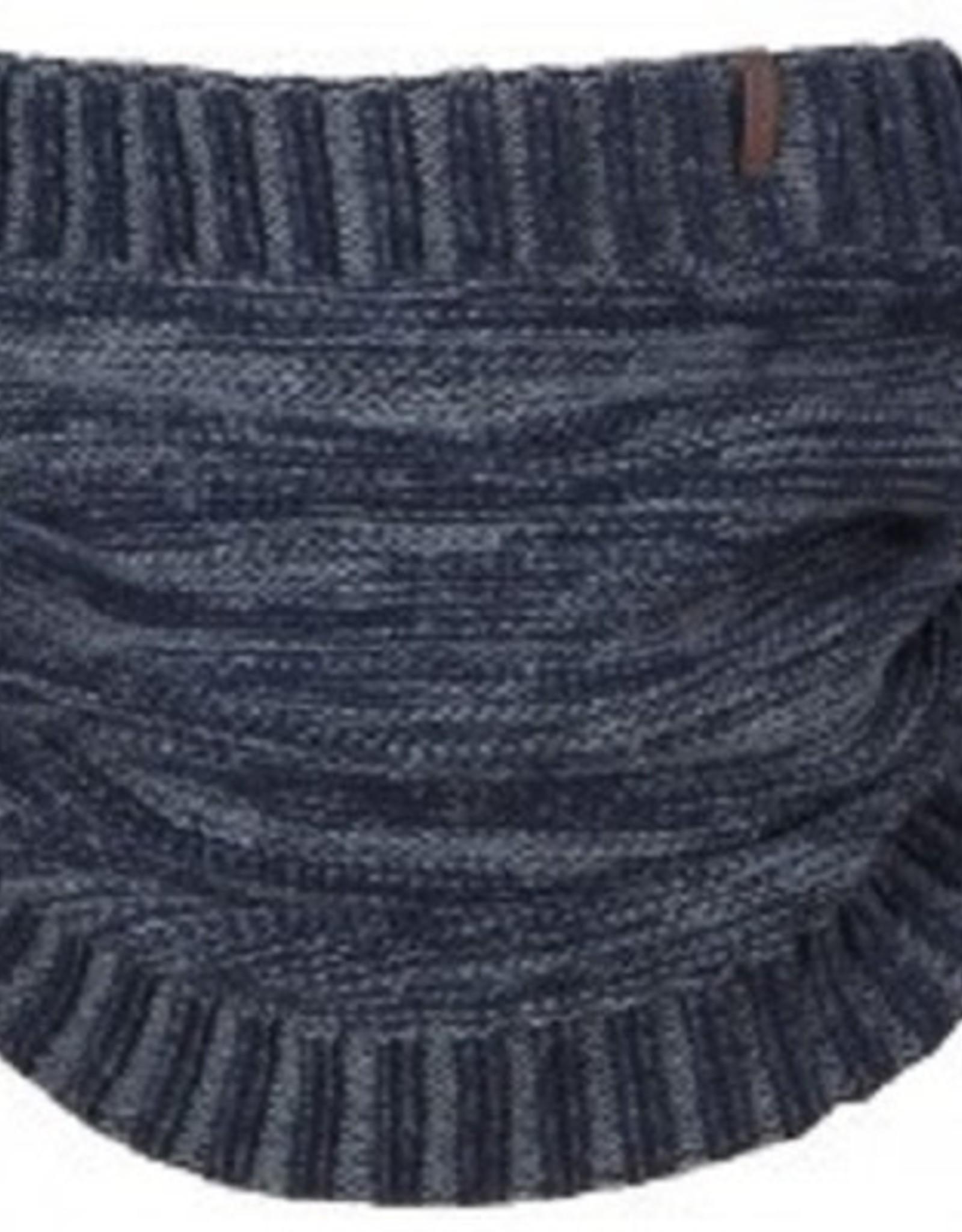 Barts Col sjaal Rebel zwart/grijs
