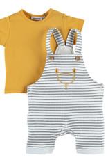 Noukie's Salopette streep +t-shirt Z000379