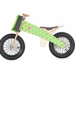 DipDap Loopfiets mini Green Bears + staander