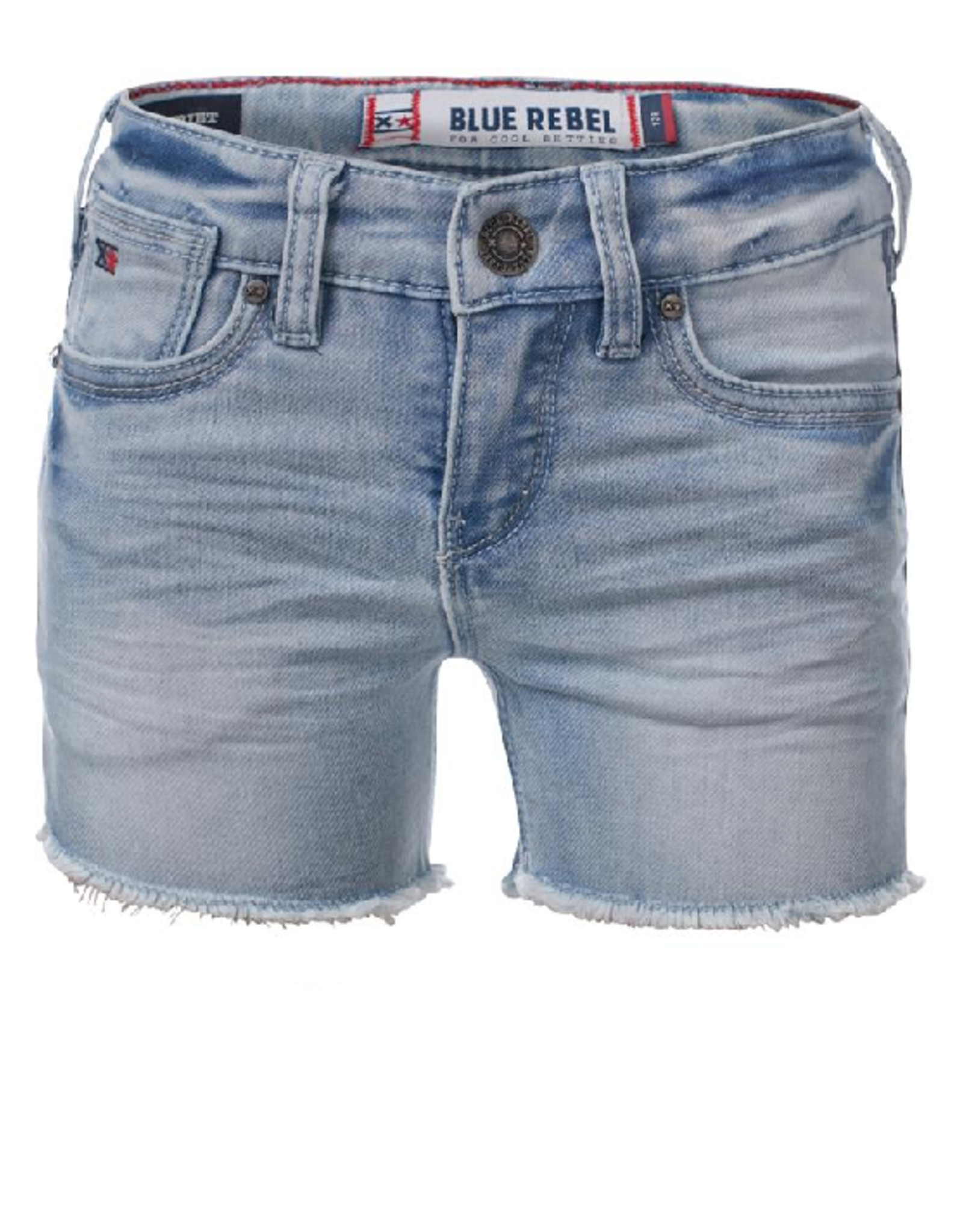 Blue Rebel Jeansshort meisjes light denim  PYRIET 0142060