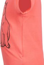 Someone Meisjes t-shirt coral poesjes - Maat 116