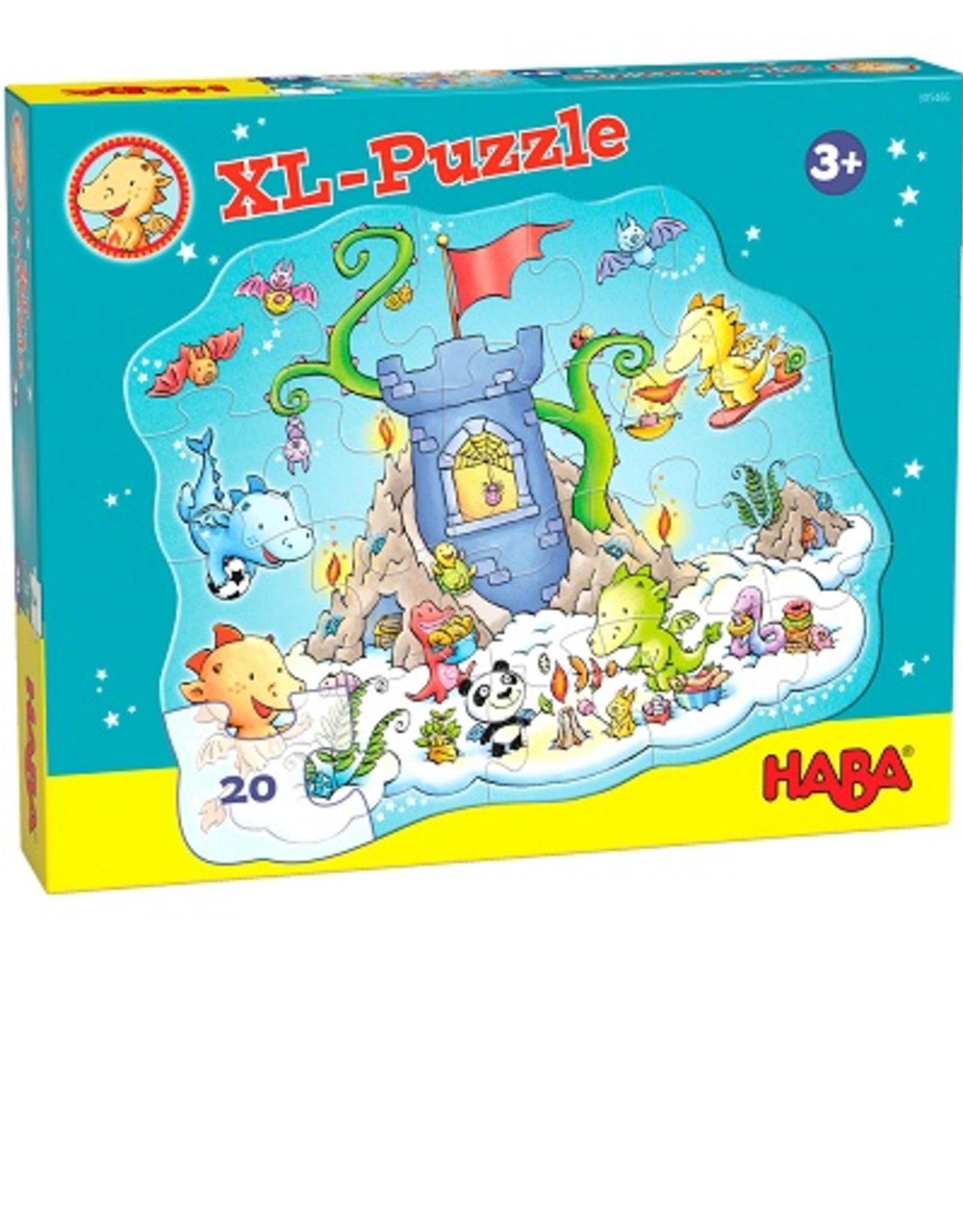 Haba  XL Puzzel draken 20 stuks  305466