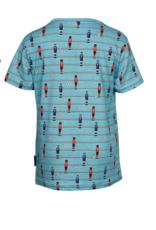 Someone Jongens T-shirt KM football aqua - maat 92