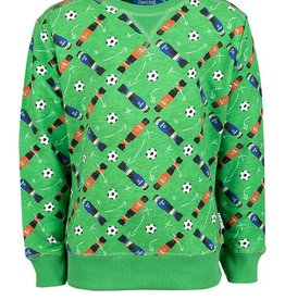 Someone Someone Sweater football groen SB16.201.18751