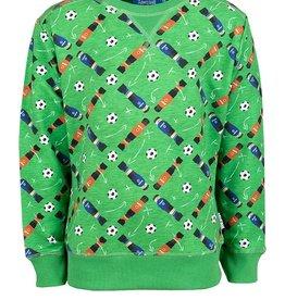 Someone Sweater football groen SB16.201.18751