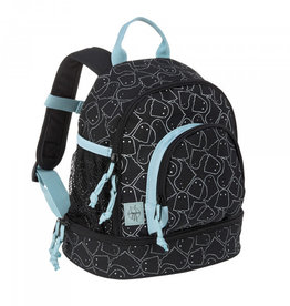 Lässig Lässig Backpack duffle mini Spooky black