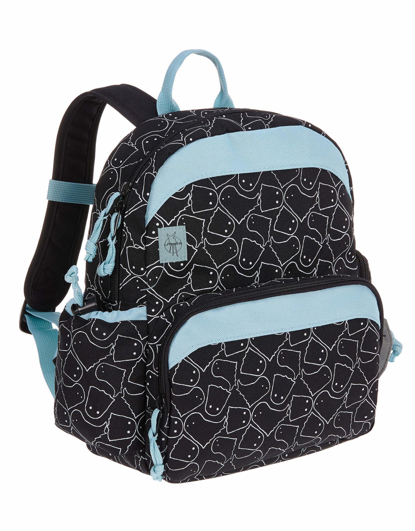 Lässig Backpack medium Spooky black