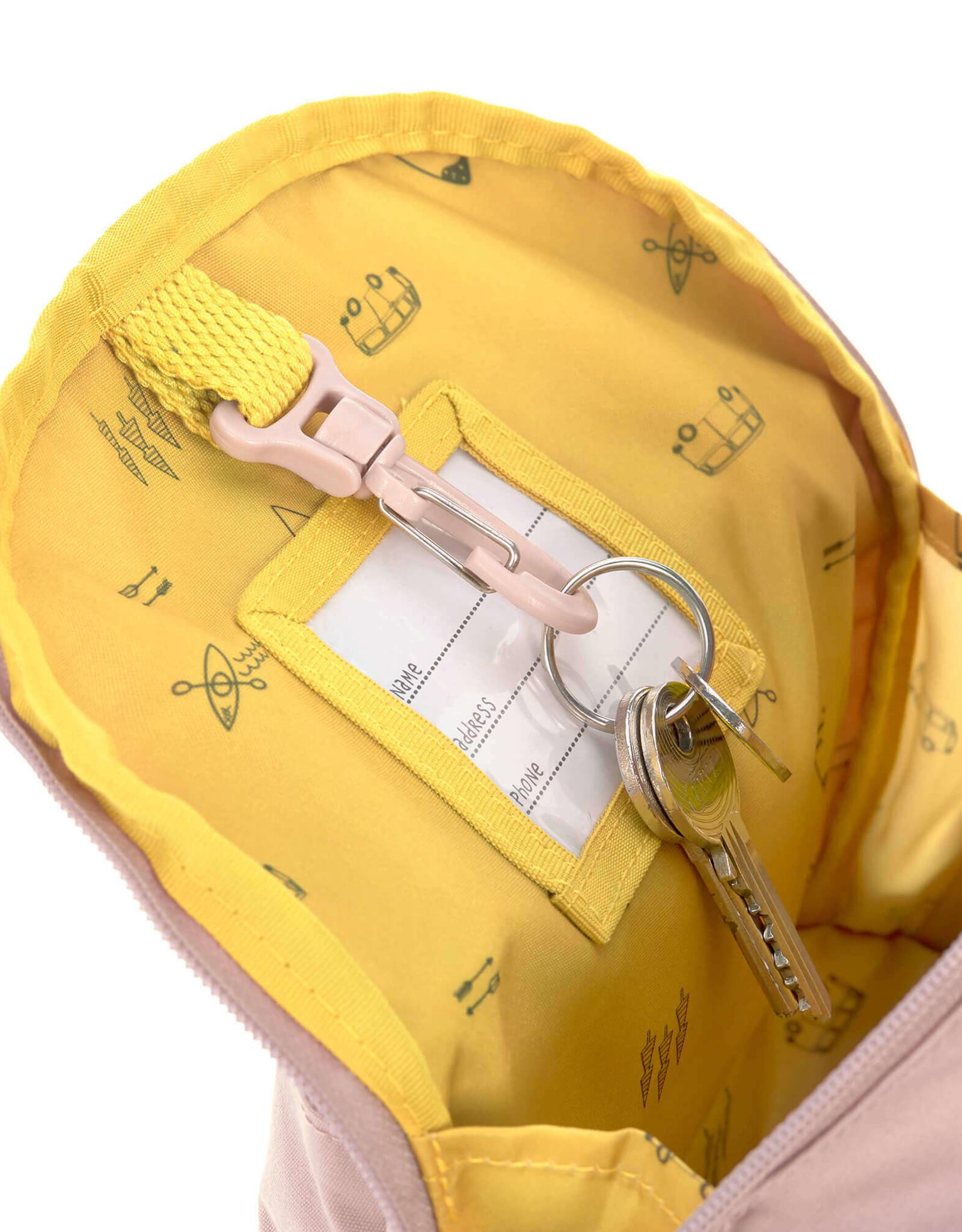 Lässig Backpack mini Light pink tipi