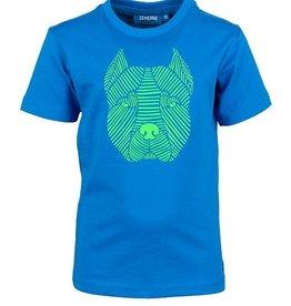 Someone Jongens Tshirt blue hond THEO-SB-02-C