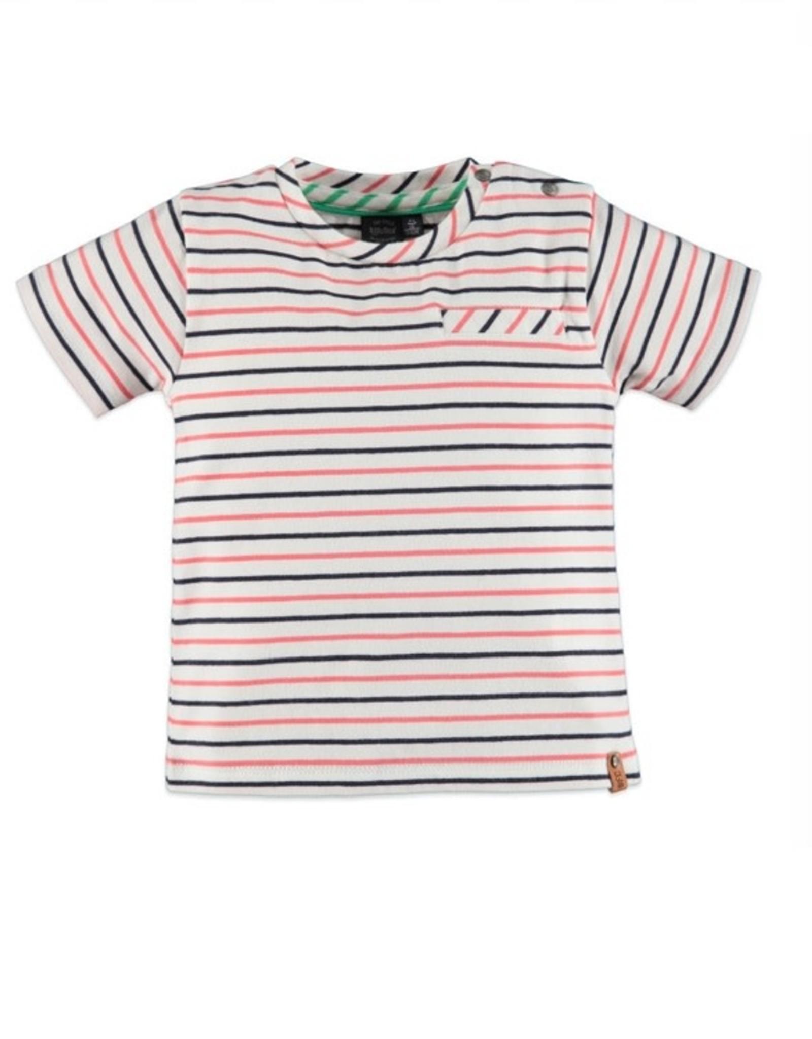 Babyface Jongens T-shirt streep 0107649