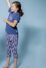 Charlie Choe Meisjes pyjama blauw sea  3/4 broek 41C-35010