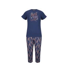Charlie Choe Meisjes pyjama blauw sea   41C-35010