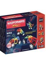 Magformers Vehicle WOW Set 16 stuks