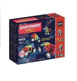 Magformers Vehicle Set 16 stuks