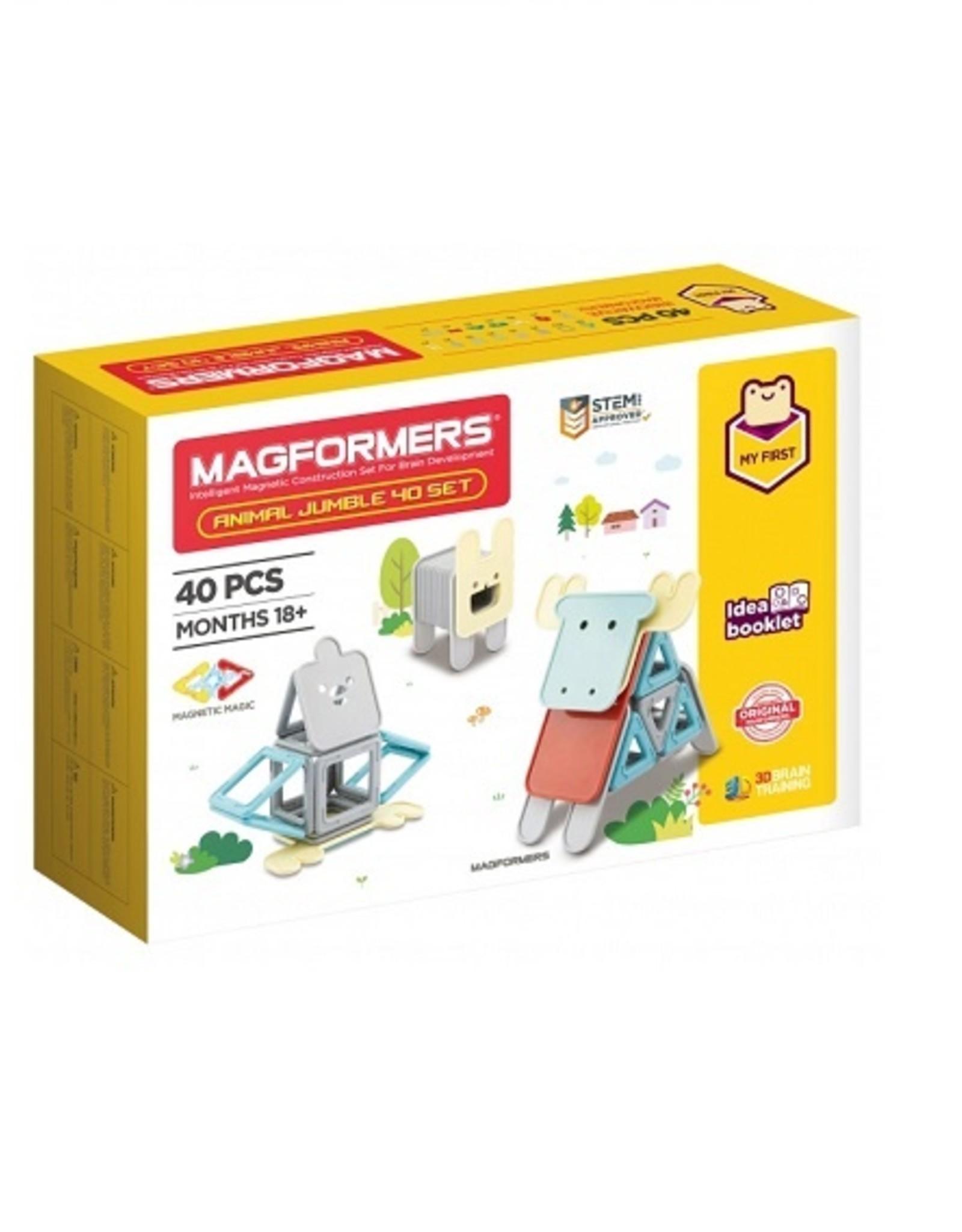 Magformers Animal Jumble 40 set