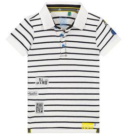 Quapi Polo wit/zwart  streep ANAS