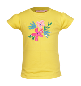 Someone T-shirt geel CAMILLE-SG-02-F