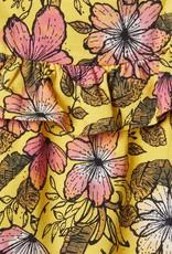 Name It Kleedje geel bloemetjes