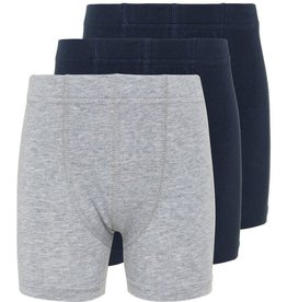 Name It 3 boxershorts effen