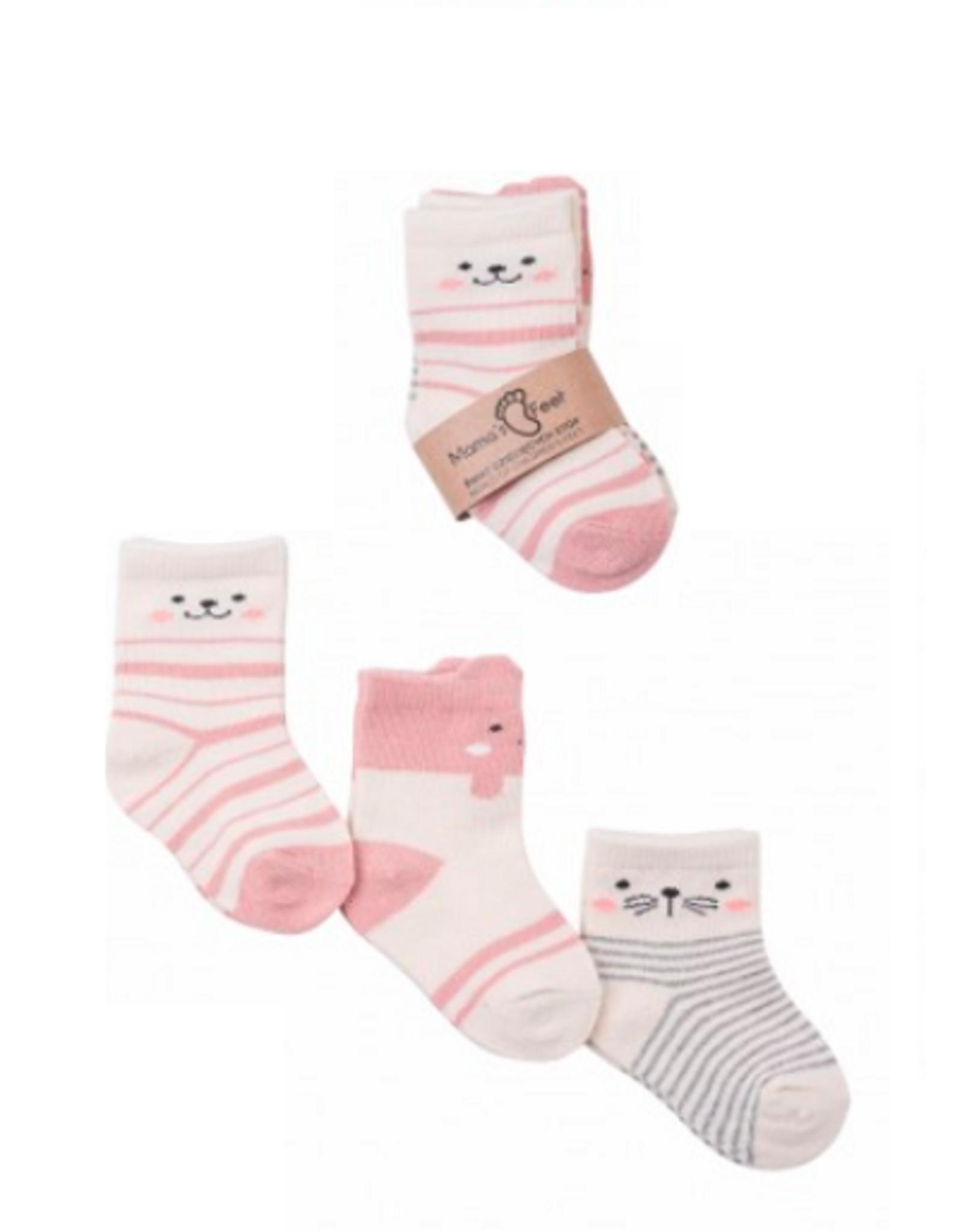 Mama's feet Leuke kinderkousjes 3 paar