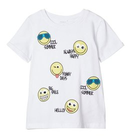 Name It T-shirt smiley's