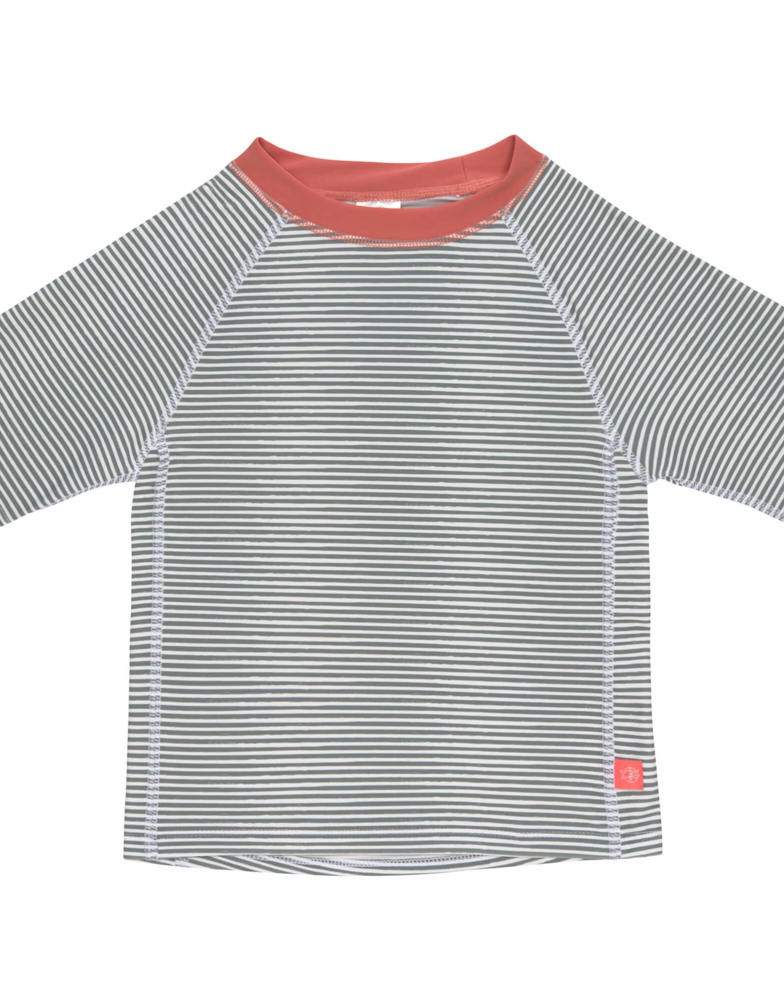 Lässig T-shirt KM Striped UV-50+