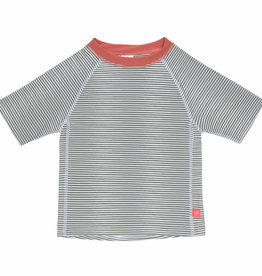 Lässig T-shirt KM Striped UV-50+