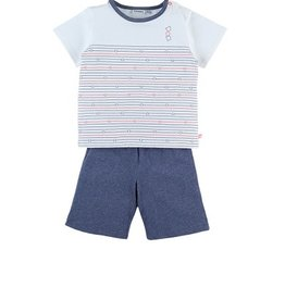 Noukie's Pyjama 2d Z033141 wit str