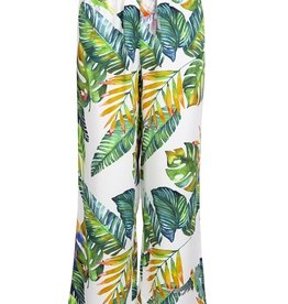 Mexx Meisjesbroek los model met  tropical print