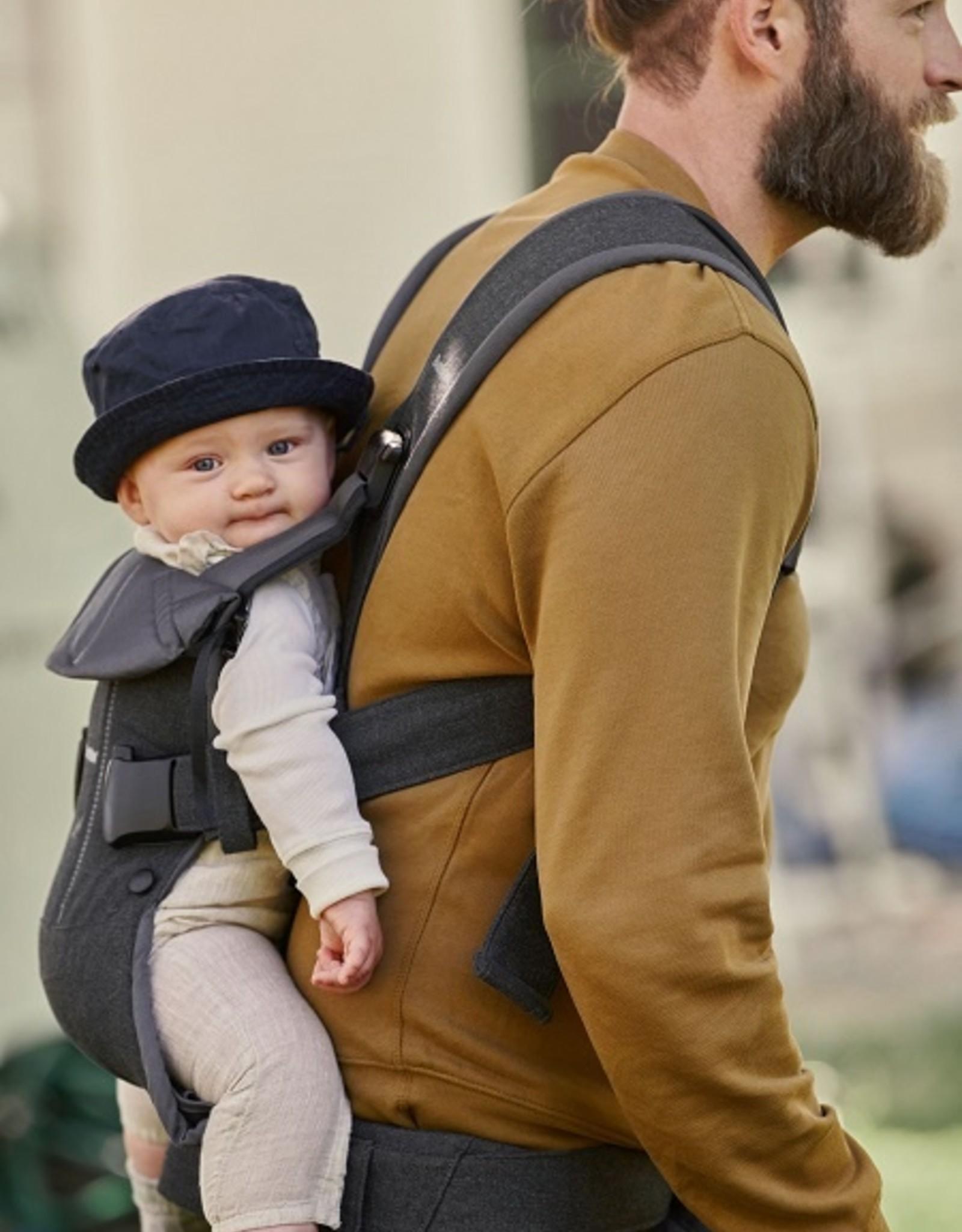 Babybjorn Baby carrier ONE cotton mix grijs denim