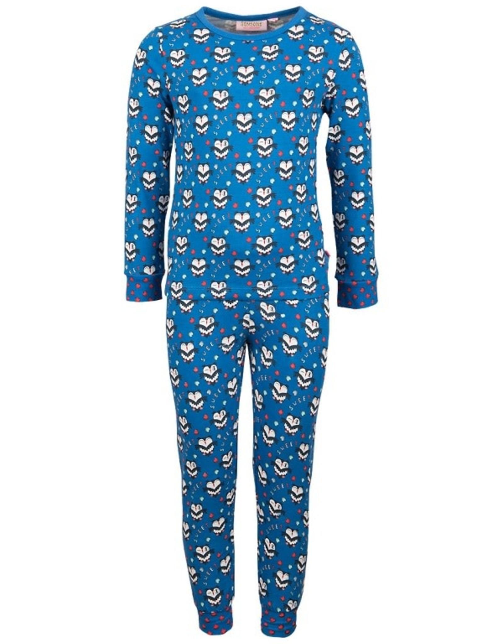 Someone M-pyjama cobalt uil