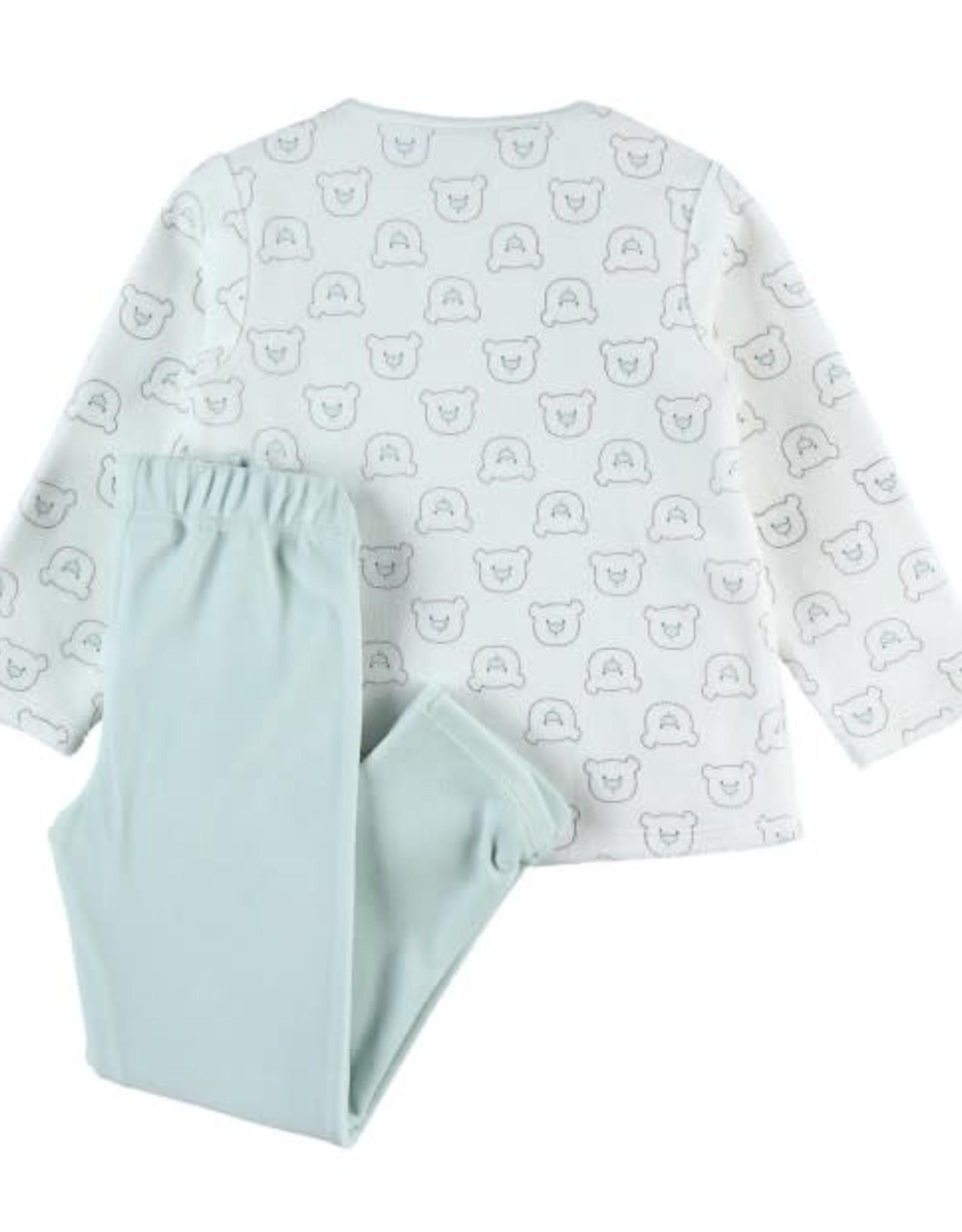 Noukie's 2-delige pyjama beertjes