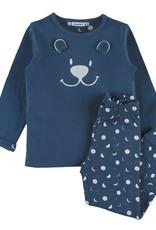 Noukie's Unisex pyjama 2-delige  berengezichtje