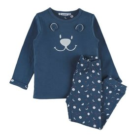 Noukie's Unisex Pyjama 2 delig berengezichtje