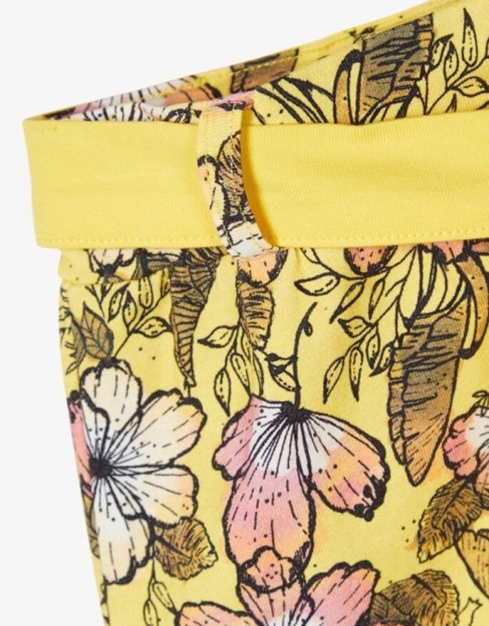 Name It Short geel bloemetjes