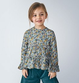 Mayoral Blouse bloemenprint