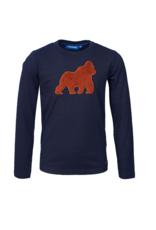 Someone  T-shirt  navy gorilla KONG