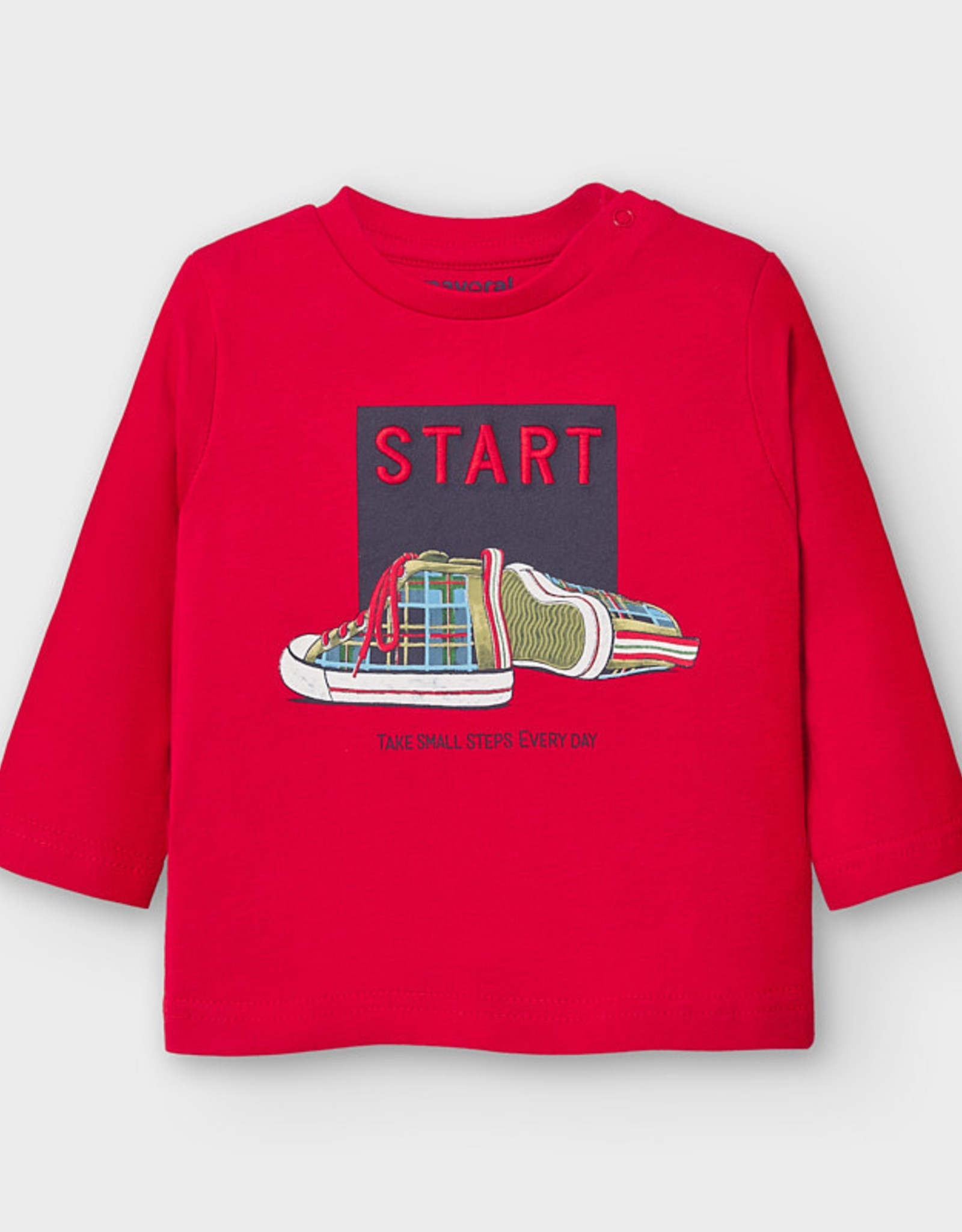 Mayoral T-shirt rood START 2045