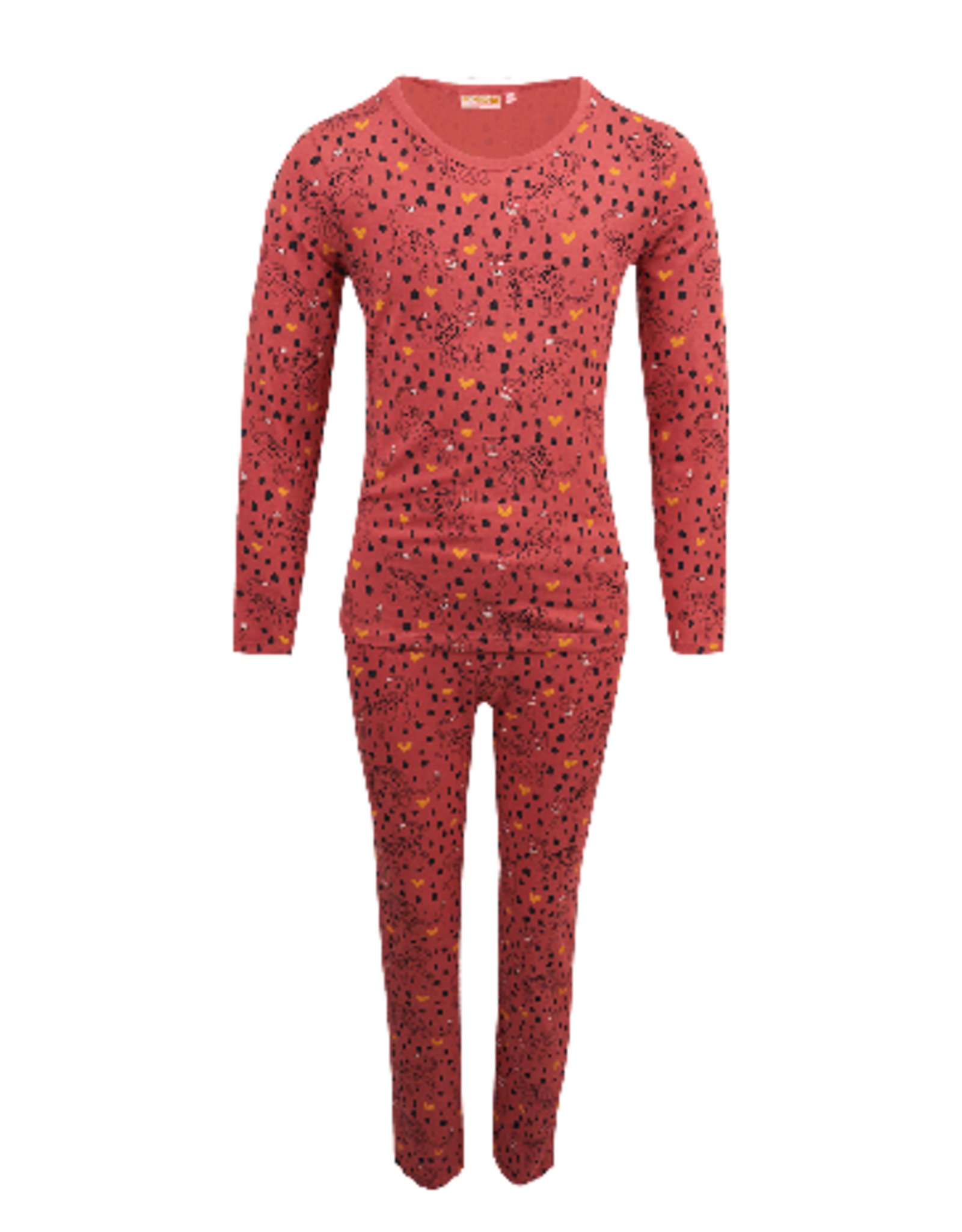 Someone Pyjama old pink leopards