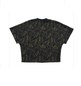 Too Many Bunnies T-shirt zwart/goud