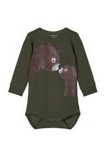 Name It Body LM donker groen  beren