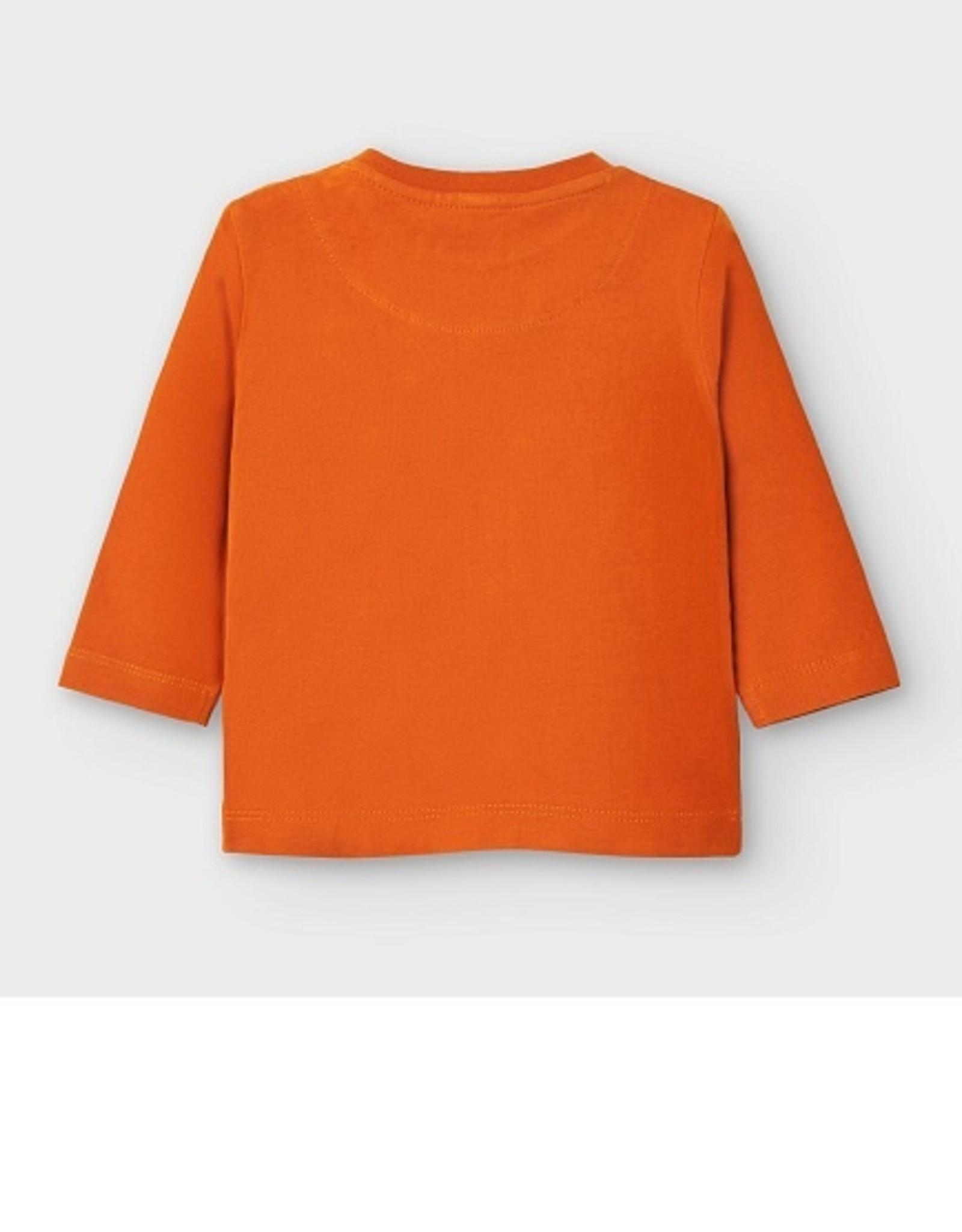 Mayoral  T-shirt do oranje rugzak